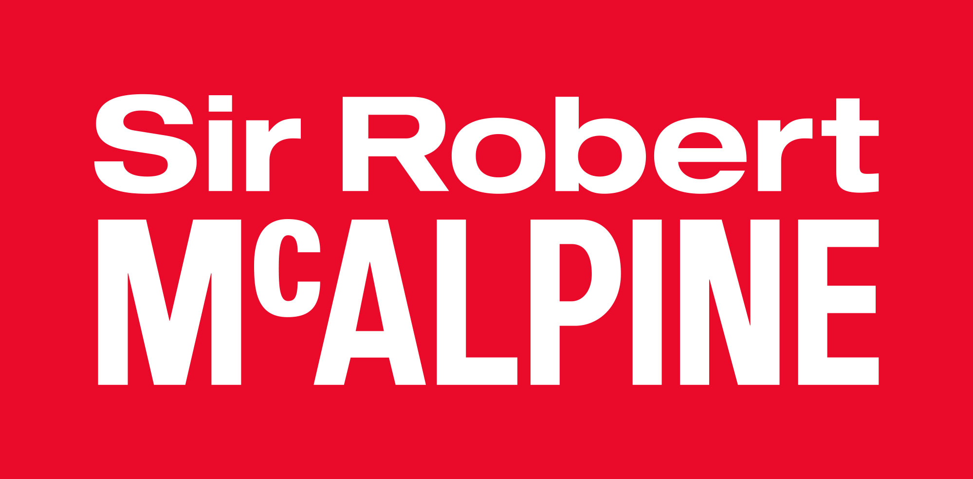 Sir Robert McAlpine Ltd Logo